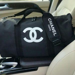 VIP Chanel beauty duffle travel/gym bag